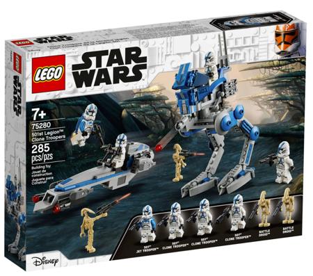 Lego Star Wars Żołnierze-klony z Legionu 501 75280