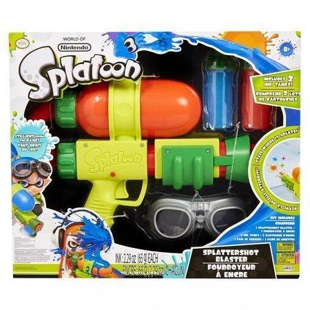 Nintendo splatoon pistolet na farbkę+okulary +2 kolory