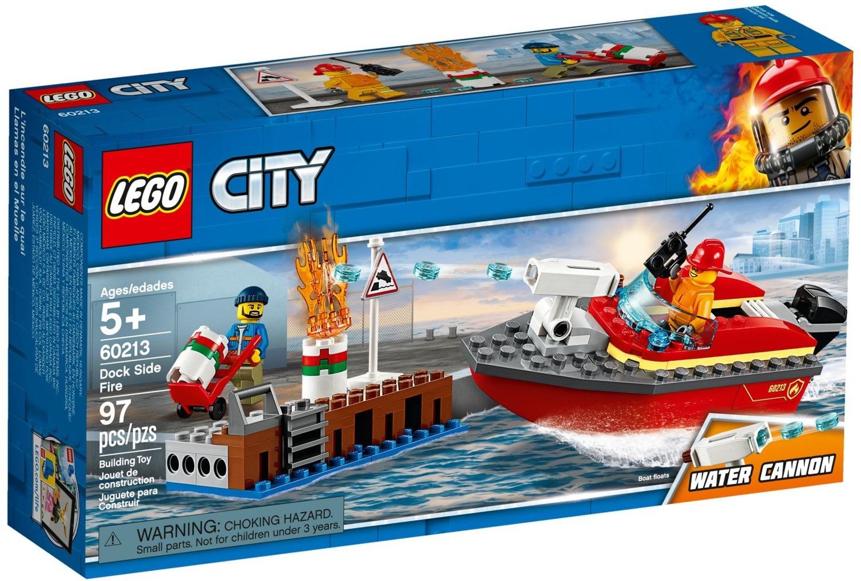 Klocki Lego City Pożar W Dokach 60213 Zabawki Klocki Lego