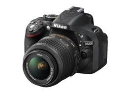 Aparat Nikon D5200 18-55 VR II czarny