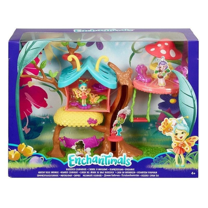 Enchantimals Motylkowy Domek Kwitnący ogród GBX08