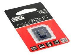 GOODRAM microSD 16GB UHS-I class 10+adapter