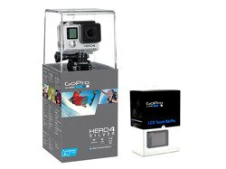 Kamera GoPro Hero 4 Silver Edition Adventure + GoPro Hero LCD TOUCH BACPAC