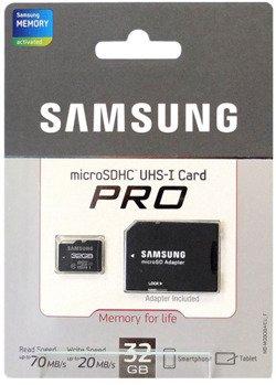 Karta pamięci Samsung microSD 32GB Class10 Pro