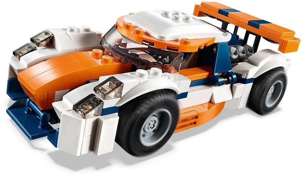 Klocki LEGO CREATOR - Słoneczna wyścigówka 3w1 - 31089