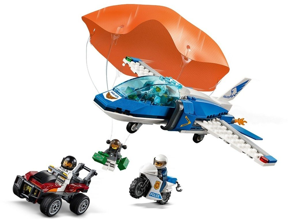 Klocki LEGO City - Aresztowanie spadochroniarza - 60208