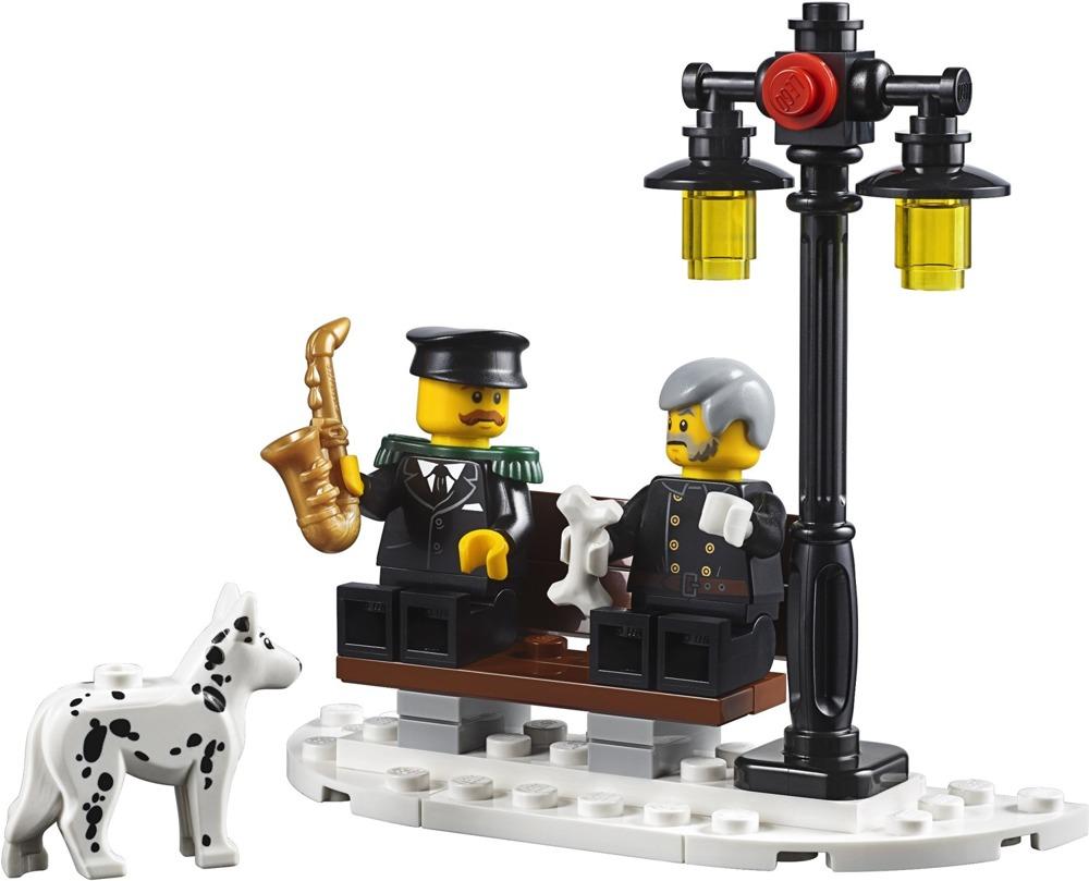 LEGO Creator Expert - Remiza strażacka w zimowej wiosce - 10263