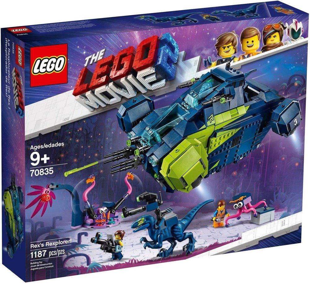 LEGO MOVIE 2 Rexplorer Rexa 70835