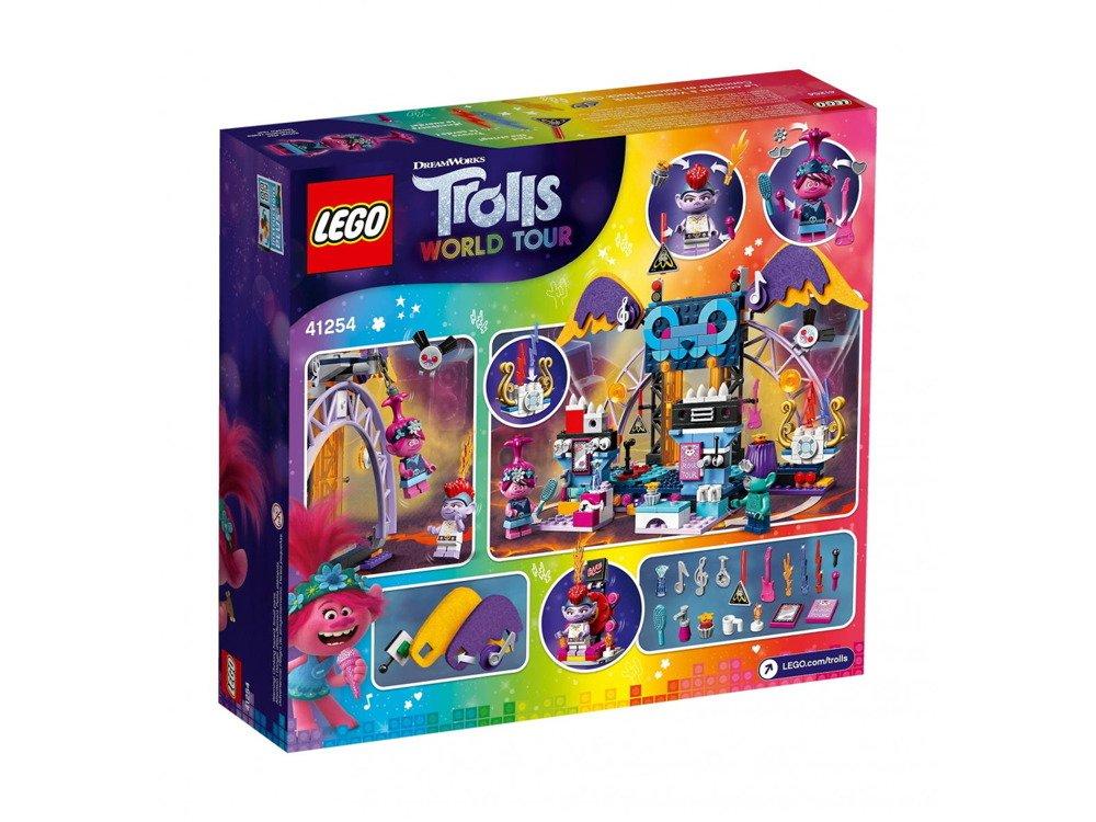 LEGO Trolls Koncert w Volcano Rock City 41254