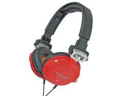 Słuchawki Panasonic RP DJS400 czerwone